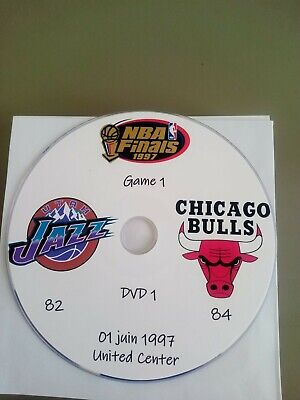 NBA Finals 1997 Michael Jordan  Chicago Bulls vs Utah Jazz en VO