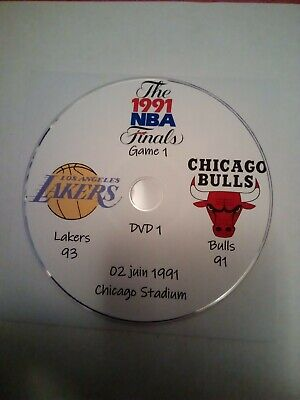 NBA Finals 1991 Michael Jordan Chicago Bulls vs Los Angeles Lakers en VO