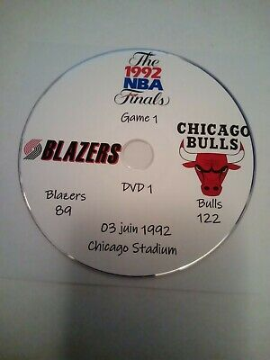 NBA Finals 1992 Michael Jordan Chicago Bulls vs Portland TrailBlazers en VO
