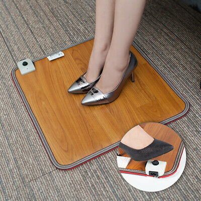 Safe Pad Foot Warmer Home Office Quick Waterproof Electric Heating Energy Saving