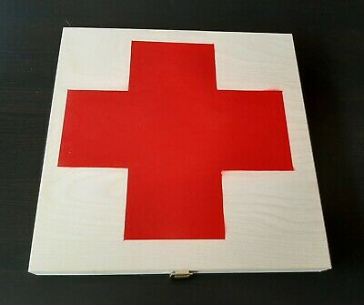 Laibach Wooden Box - Red Cross - 3 CDr 1 LP and more Ltd to 5 different copies