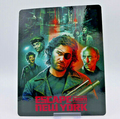 ESCAPE FROM NEW YORK - Bluray Steelbook Magnet Cover (NOT LENTICULAR)