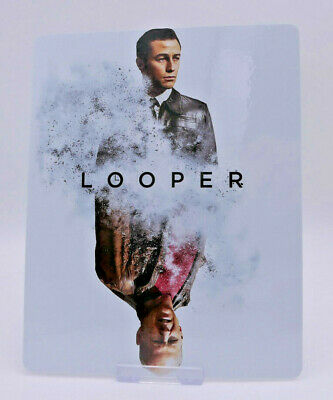LOOPER - Glossy Bluray Steelbook Magnet Cover (NOT LENTICULAR)