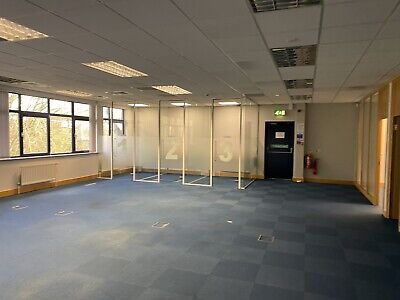 Glass Office Doors With Frames - 3 Available
