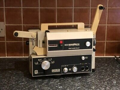 Eumig 822 Sonomatic Cine Sound Projector, Standard 8mm, Super 8, & Single 8 Film
