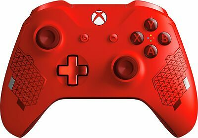 Microsoft - Wireless Controller for Xbox - Sport Red