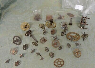 Vintage Collection Watchmakers and Clock Spare Parts  Cogs (D)