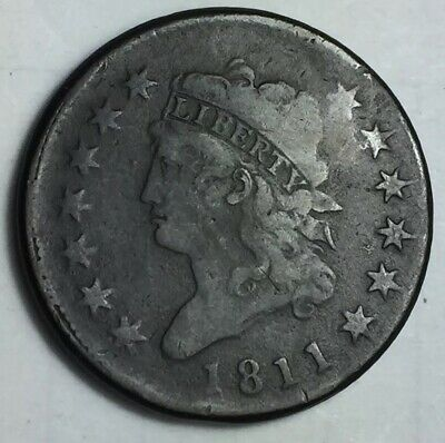 SCARCE 1811 Classic Head Large Cent