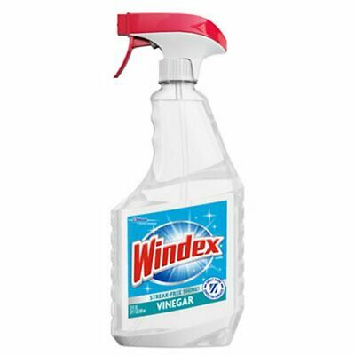 Windex Multi-Surface Vinegar Cleaner, 8 Spray Bottles (SJN312620)