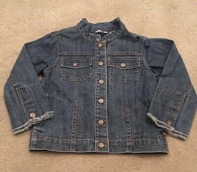 Girls Denim Jacket Age 4 Years Gap Excellent Conditoon