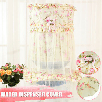 Lace Water Dispenser Coolers Barrel Bucket Cover Dust Proof Protector Home Decor
