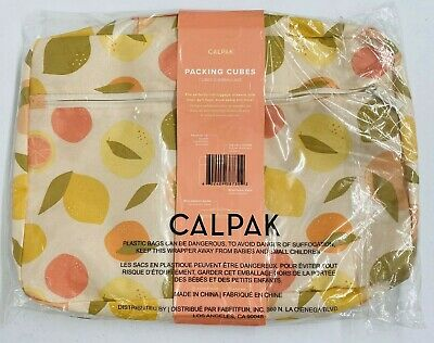 NEW CALPAK 3-Piece Packing Cubes Storage Set - Fits in Luggage, Drawers, Bags