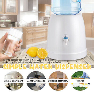 Portable Table Top Desktop Bottle Water Cooler Dispenser Home Office Universal