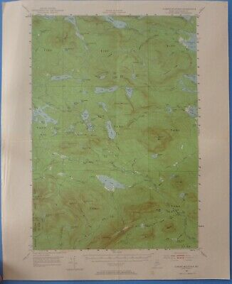 Jo-Mary Mountain, Maine, State Vintage USGS Topographic Map, 1952