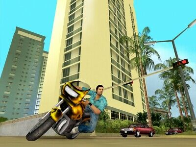 Grand Theft Auto GTA Vice City 2002 - PC Download, No CD Req'd Win 10 Compatible