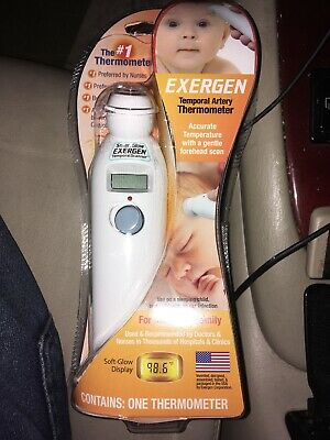 Exergen Temporal Artery Thermometer TAT-2000C #1 Thermometer BRAND NEW SEALED