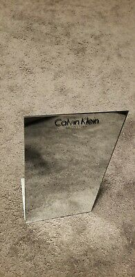 Calvin Klein Collections Glasses Sunglasses Stainless Metal Display Stand Mirror