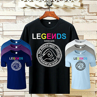Legends Norris Nuts Mens T Shirt Merch Catch Me Youtuber Kids Birthday Gift Tee