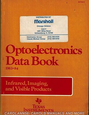 TEXAS INSTRUMENTS Data Book 1983-84 Optoelectronics