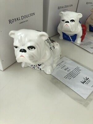 Royal Doulton Jack Bulldog collection. Alfie James Bond. Brand new in box.