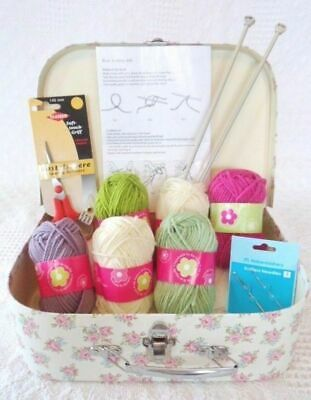 Beginners Knitting Kit Learn how to Knit Everything Included Easy & Gorgeous !