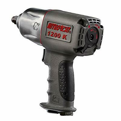 NitroCat 1200-K 1/2-Inch Composite Air Impact Wrench With Twin Clutch Mechanism