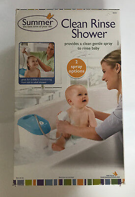 New Summer Infant Clean Rinse Shower