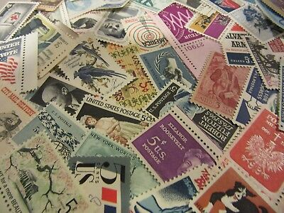 Antique USA Postage Stamp Lot, all different MNH 5 CENT COMMEMORATIVE UNUSED