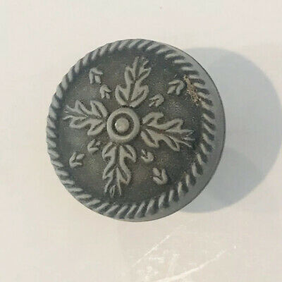 """Ornate Round Knobs or Drawer Pull 1"""""""