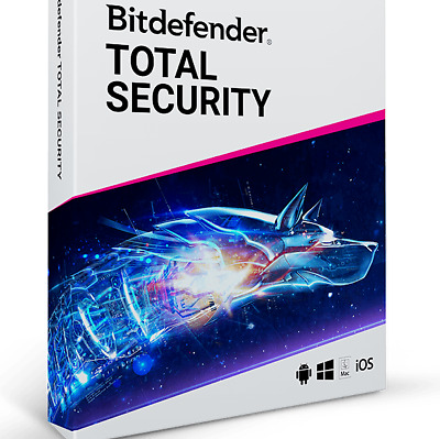 Bitdefender Total Security 2020 6 Months 5 Devices - Global Key - Auto Delivery