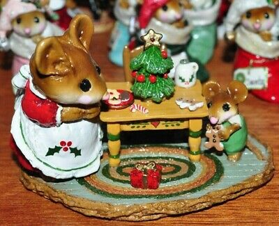 Wee Forest Folk M330a Where Have all the Cookies Gone? Christmas