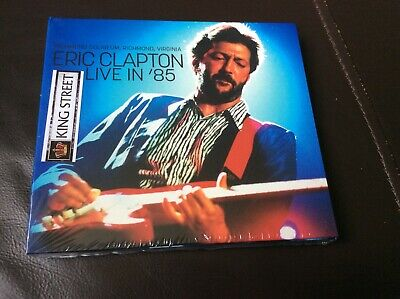 Eric Clapton Live In 85 Richmond Virginia Double Cd Digipak New And Sealed I1