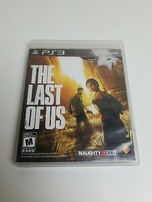The Last of Us (Sony PlayStation 3, 2013) PS3 No Manual Tested very good