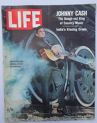 Life Magazine - December 8 1969 ~ Johnny Cash, Heifetz, Loudon Wainwright