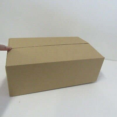 50 x cardboard boxes postal packing shipping boxes 15 X 9.75 X 5 INCH BOXES