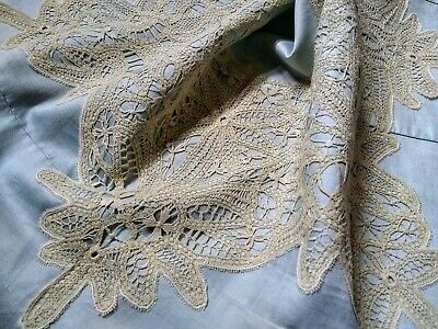 Antique Victorian Lace Collar Handmade