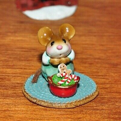 Wee Forest Folk M-510b Pot Full of Goodies Christmas