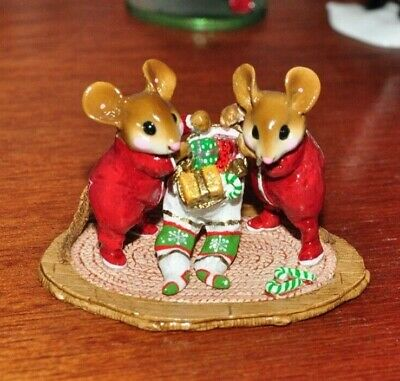 Wee Forest Folk M-329 Two for One Christmas