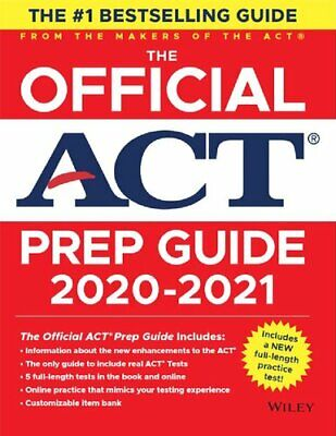 The Official ACT Prep Guide 2020 - 2021 by ACT ✅ [P.D.F] ✅