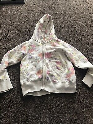 Girls Hoodie Zip Up Aged 12 Years By Next
