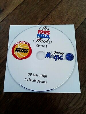 NBA Finals 1995 DVD Houston Rockets vs Orlando Magic VO