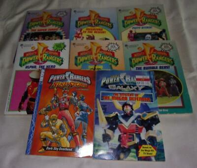 HUGE set of 8 Mighty Morphin Power Rangers chapter books
