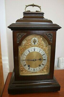 Winterhalder Hoffmeier W & H Antique TING TANG Bracket Mantel Clock