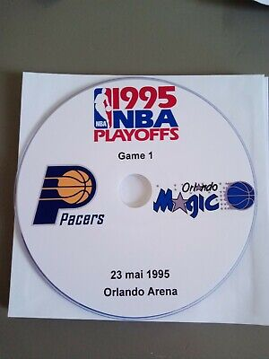 NBA Playoffs 1995 Orlando Magic vs Indiana Pacers (lire l'annonce)
