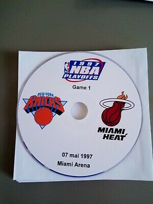 NBA Playoffs 1997 New York Knicks vs Miami Heat (lire l'annonce)