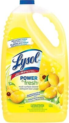 Lysol multi Surface cleaner 4.26 liters