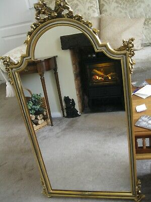 Vintage - Regency Style,  Gilt Large Wall Mirror - Made In Belgium