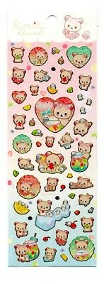 San-x Korilakkuma Rilakkuma Sticker Sheet Kawaii Japan Stickers Summer 2018