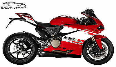 Stickers For Ducati Panigale 959 Exhaust Lower Performance Tricolor Custom