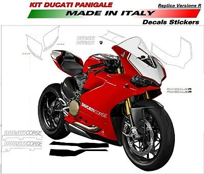 Stickers For Ducati 959 Panigale Replica Version R (Exhaust Side)